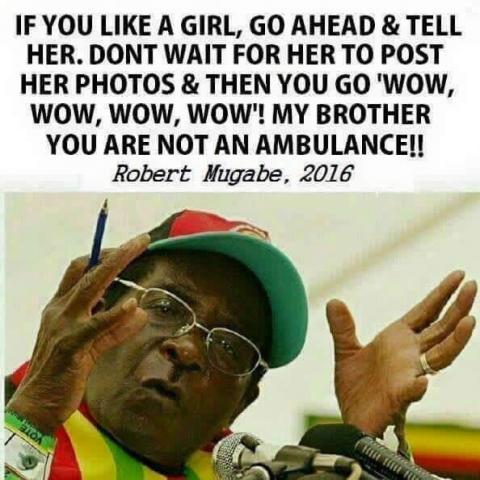 Do you know Mugabe? Test yourself