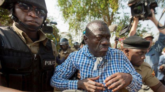 Image result for Besigye arrested