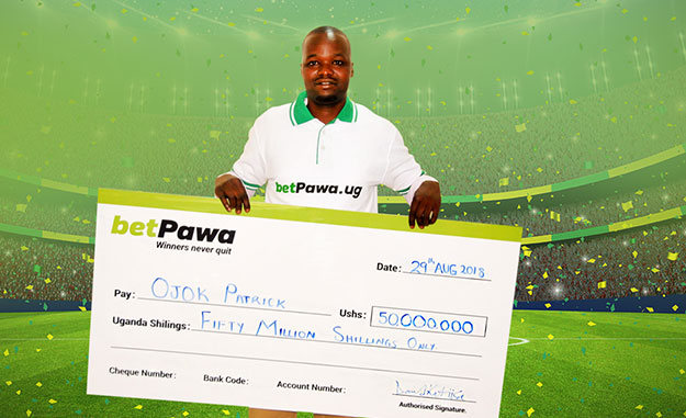 Shs 59,429 stake wins Oyam man Shs 50 million on betPawa