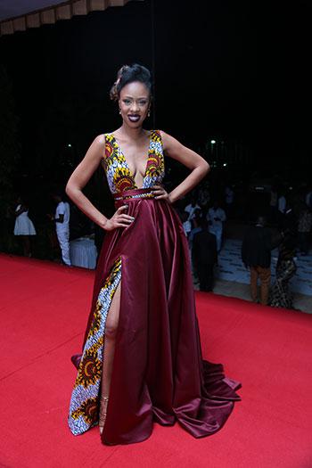 Designer Fatumah Asha Stood Out At Tuma