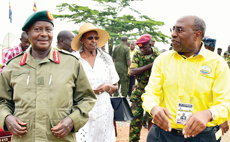 PM Rugunda joins youth campaign to remove age limit