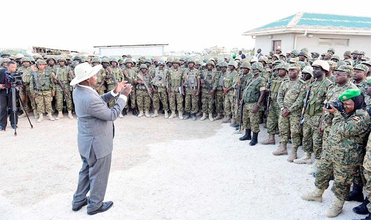 Museveni: al-shabaab killed 8 UPDF soldiers