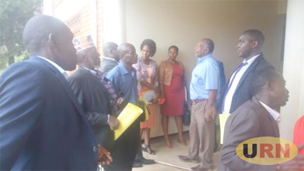 NRM councillors stormed out of the meeting