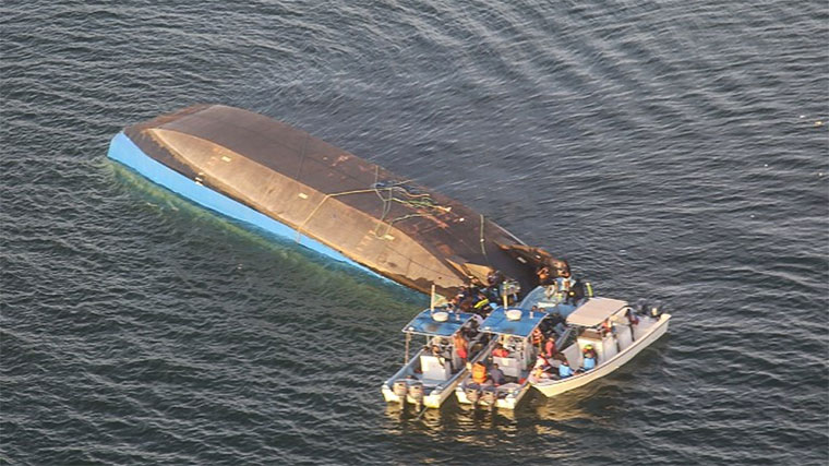 Over 200 people died when a boat capsized