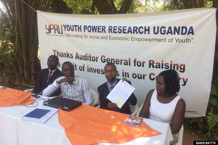 Youth Power Research Uganda Ltd address the media