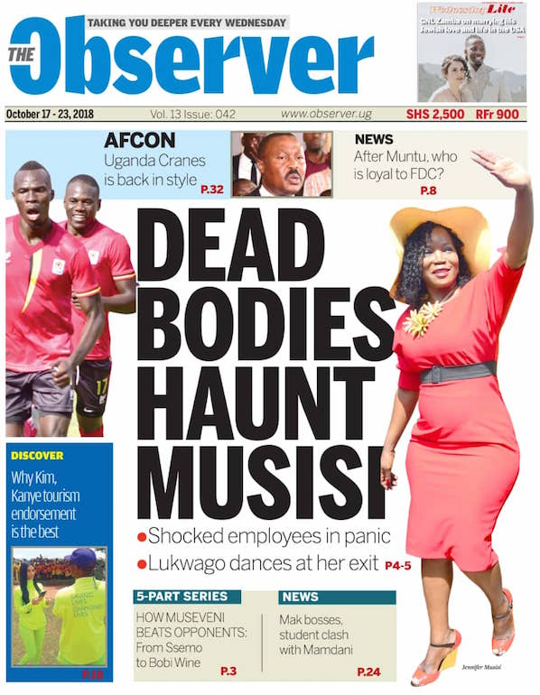 The Observer October 17-23, 2018