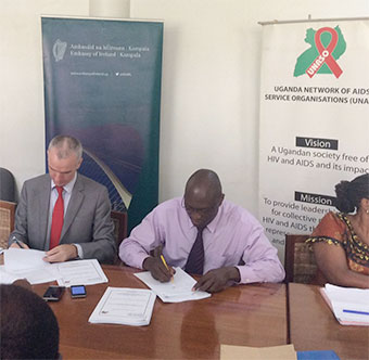 Irish embassy launches Shs 74bn HIV/Aids plan