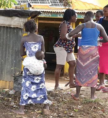 Girls in Gulu