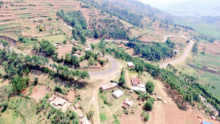 Hills in Rubanda