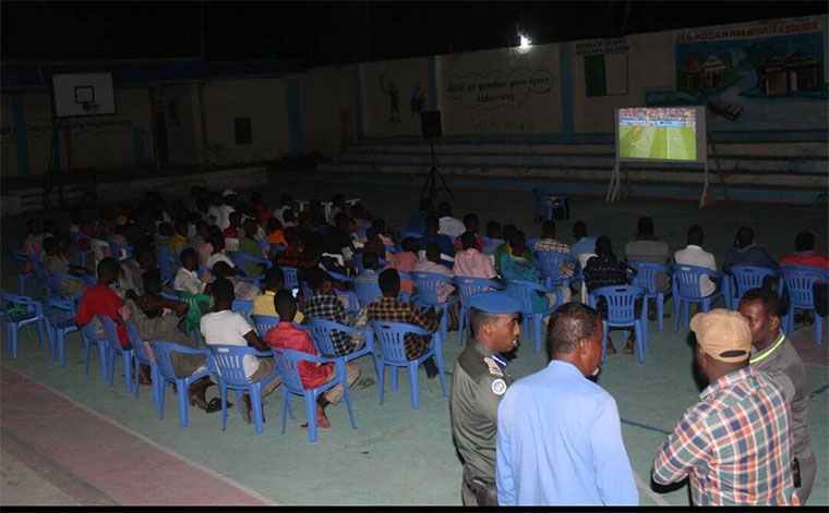 For once, Mogadishu can watch World Cup with little fear