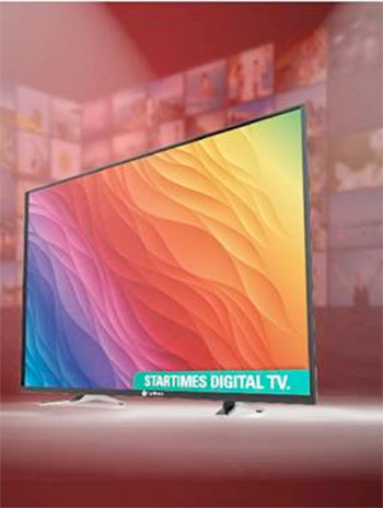 StarTimes launches branded flat TVs