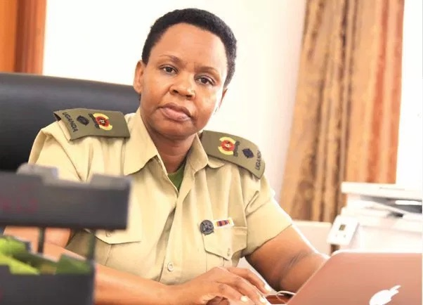 Lt Col Edith Nakalema head of State House Anti-corruption unit