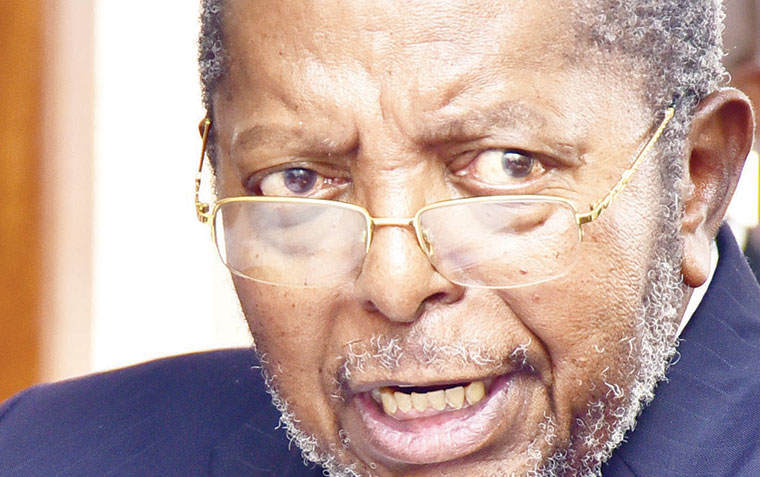 Bank of Uganda governor Tumusiime Mutebile