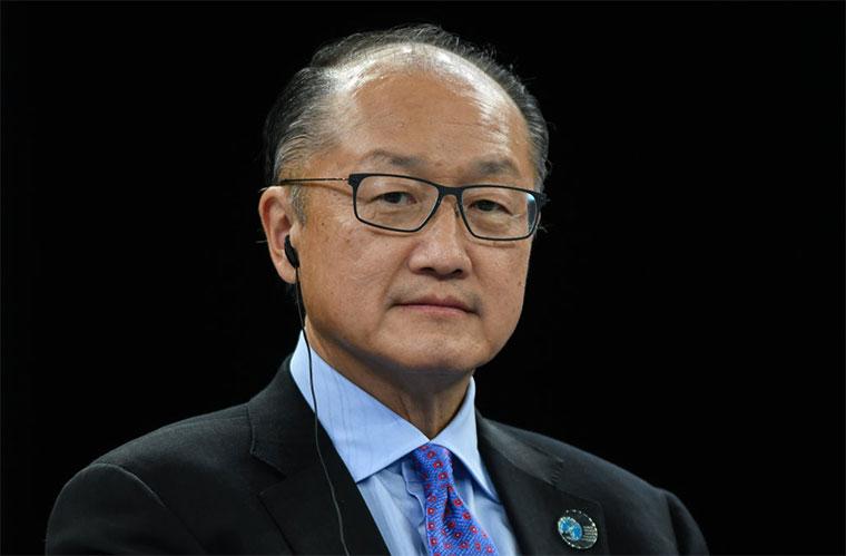 World Bank President Jim Yong Kim Announces Resignation