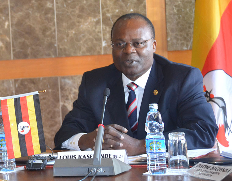 deputy governor Bank of Uganda, Louis Kasekende