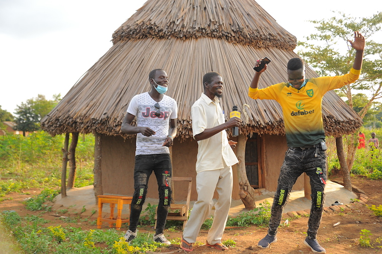 Magino, one of the winners in the MTN MoMo promotion