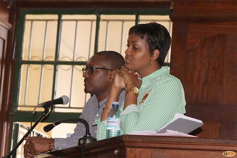 Mathew Kanyamunyu and girlfriend Cynthia Munangwari in court