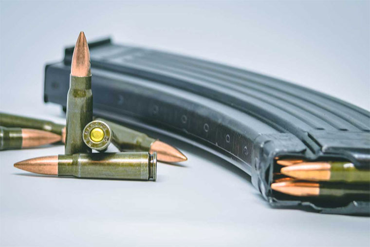 The police officers allegedly sold 16 bullets. Photo: shootingandsafety.com