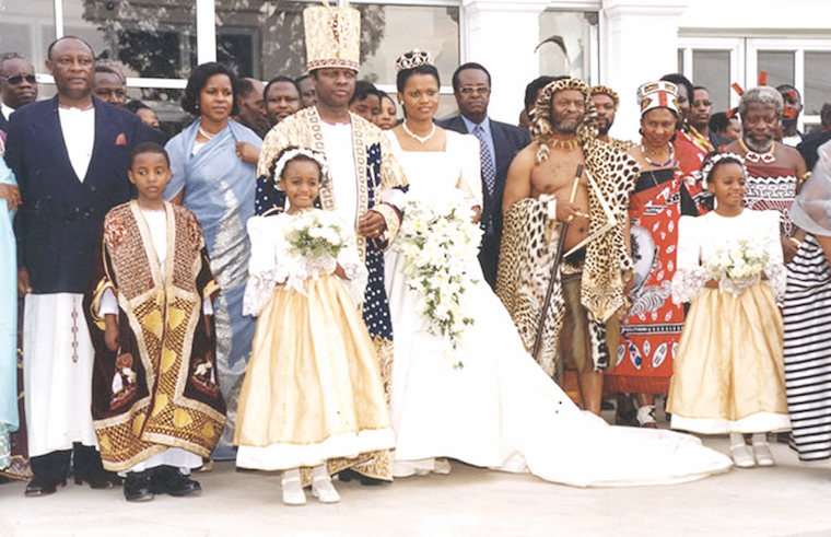 The Kabaka's wedding was on the lips of everyone in 1999