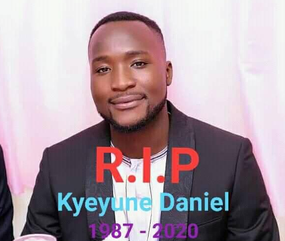Dan Kyeyune was reportedly shot dead as police battled Bobi Wine supporters in Nansana