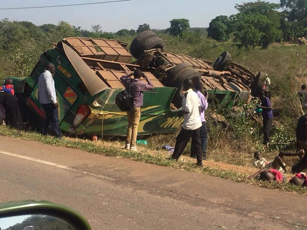 Four dead, 48 injured in Link Bus accident