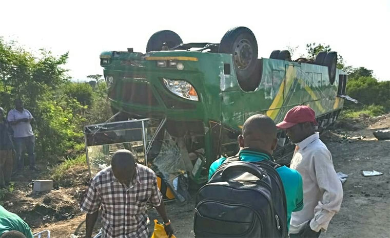 27 injured in Kasese bus accident