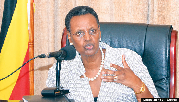 Education and sports minister Janet Museveni
