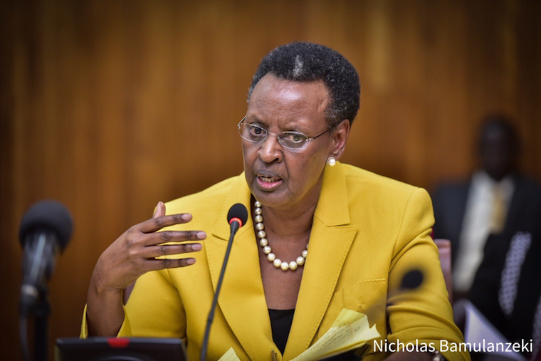Education minister Janet Museveni
