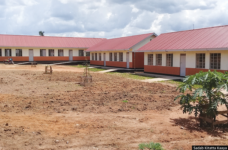 Nakulamudde Primary School in Nakaseke district was built with World Bank funding
