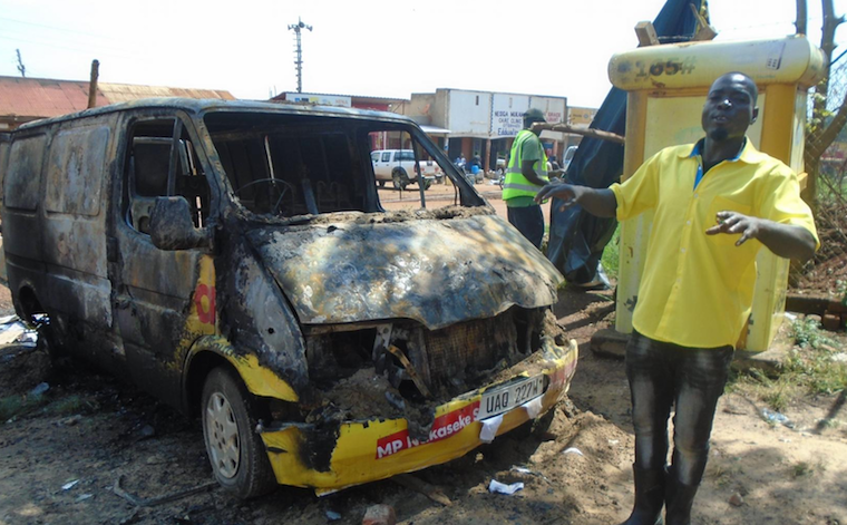Electoral violence in Nakaseke during the NRM primaries