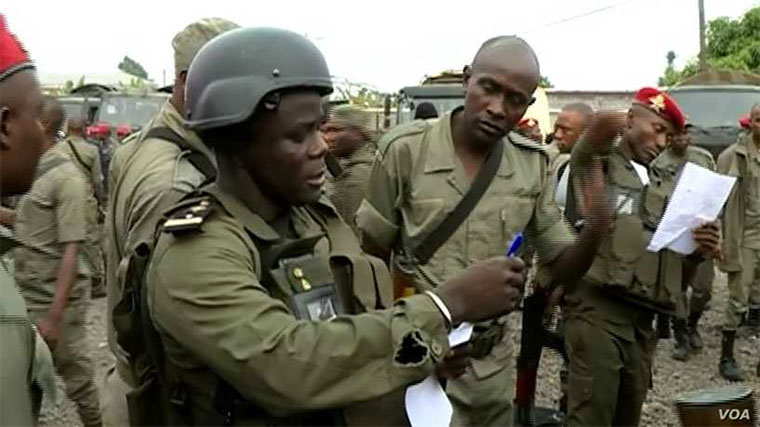 Cameroon's armed forces in English speaking north earlier this week