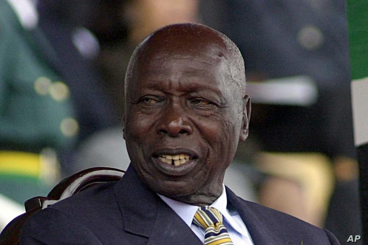 Former Kenyan President Daniel Arap Moi Dies At 95