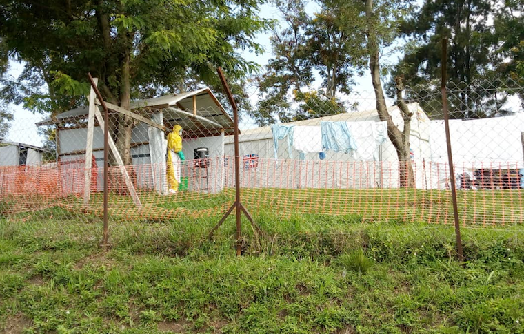 Bwera Ebola treatment Unit