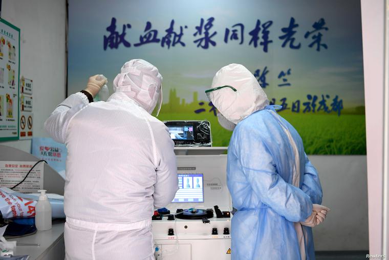 Coronavirus: China asks recovered patients to donate plasma for virus treatment