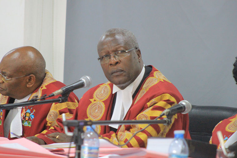 Chief justice Bart Katureebe