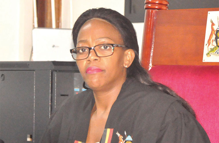 Magistrate Gladys Kamasanyu