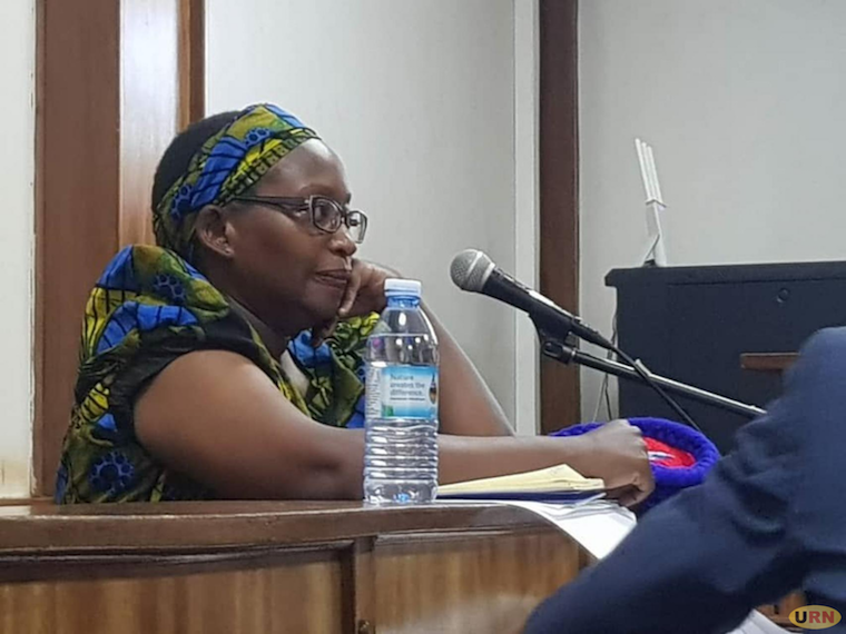 Dr Stella Nyanzi in court earlier