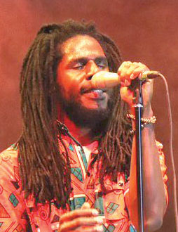Chronixx on stage
