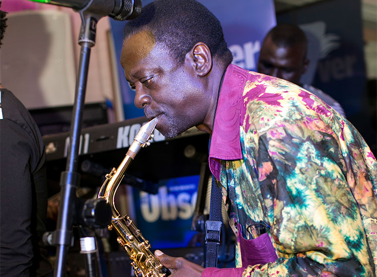 Moses Matovu the saxophone king