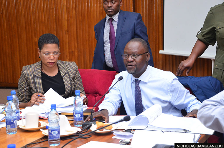 FDC insists that Abdu Katuntu and Anita Among hand over the Cosase leadership