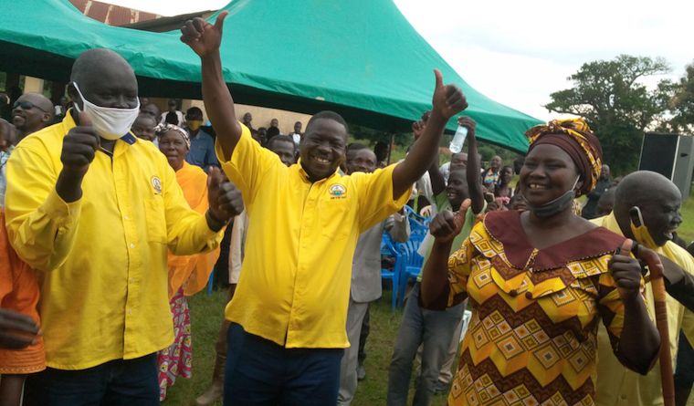 Bernard Atiku has joined NRM from the opposition