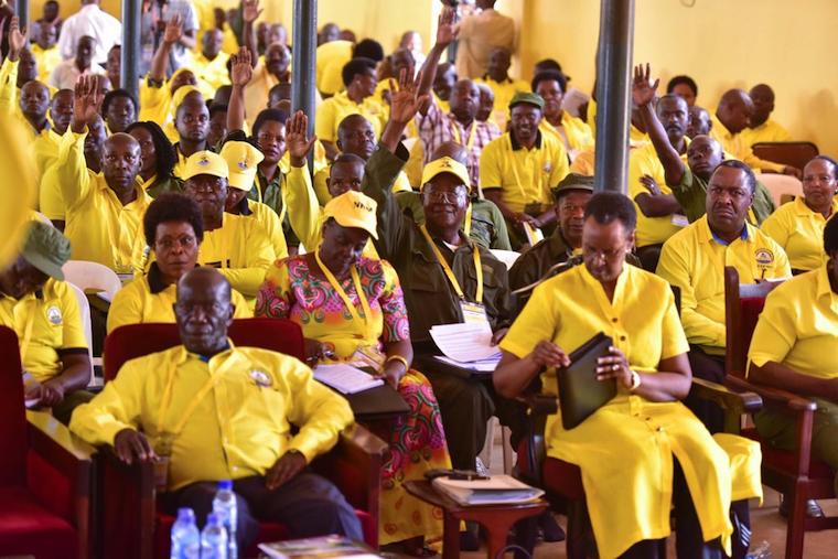 NRM MPs endorse 'beloved leader' Museveni sole candidature