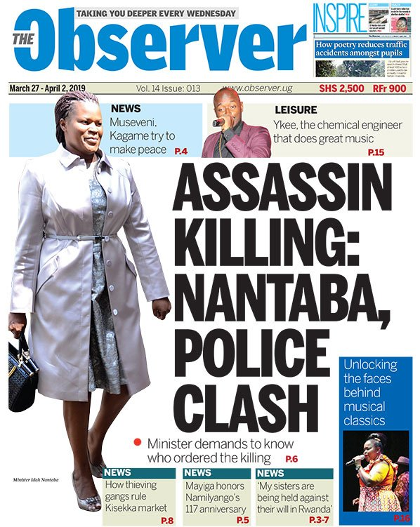 The Observer March 27-April 2, 2019