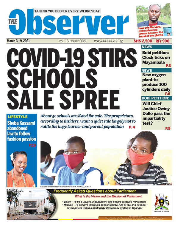 The Observer March 3-9, 2021