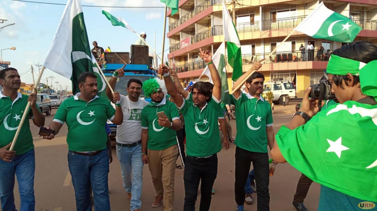 Pakistani nationals during the launch of their Association in Lira town on Tuesday
