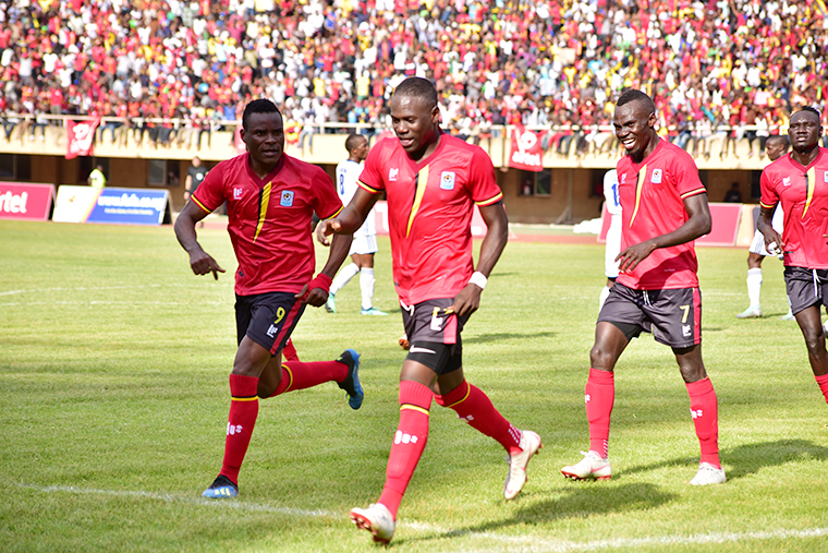 Uganda Cranes participated in the 2019 AFCON Championship in Egypt