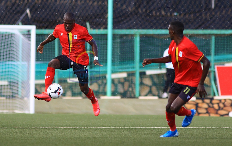 Uganda Cranes etched out South Sudan 1-0