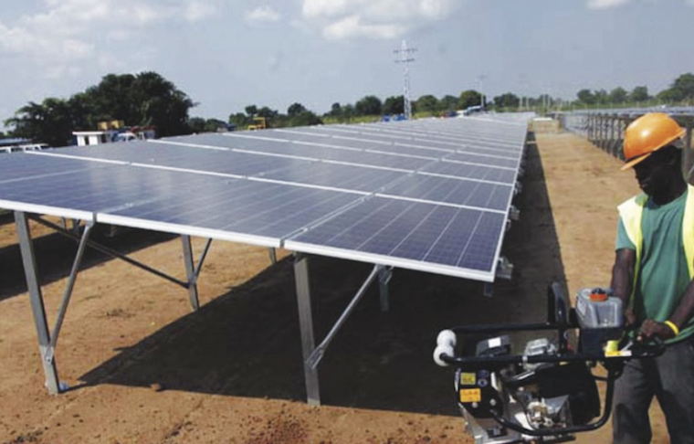The Soroti solar plant that is part of the GET FiT programme