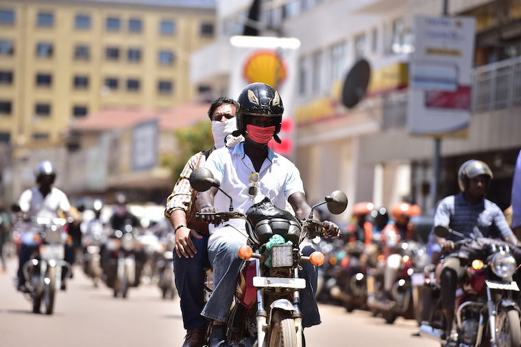 KCCA has demarcated boda boda stages