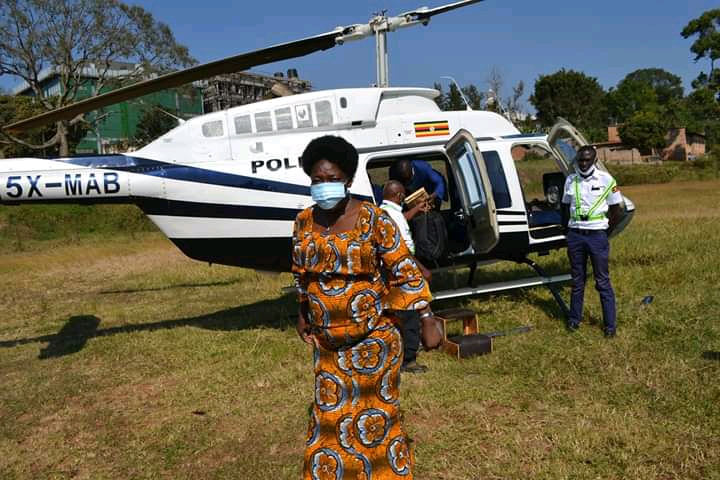 Karima Mitala died after being knocked by Kadaga's convoy in Fort Portal